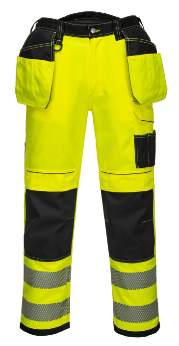 Portwest T501 PW3 Hi-Vis Holster Work Trouser